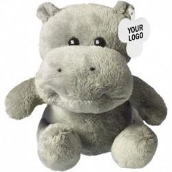 Pluszowy hipopotam, zawieszka pod nadruk