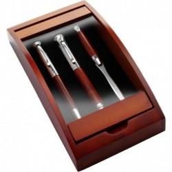 Zestaw piśmienny, długopis, pióro wieczne i nóż do listów