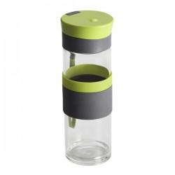 Szklana butelka Top Form 440 ml, jasnozielony