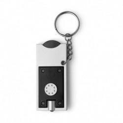 Brelok do kluczy, lampka LED, żeton do wózka na zakupy