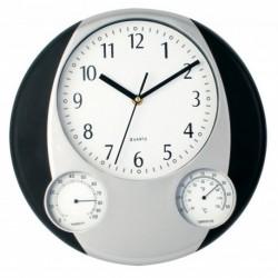 Zegar na ścianę, stacja pogodowa